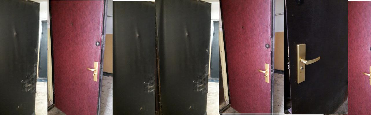Реставрация железной двери